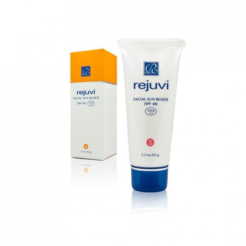 Rejuvi ' s ' Facial Sunblock -SPF40 (65 g)