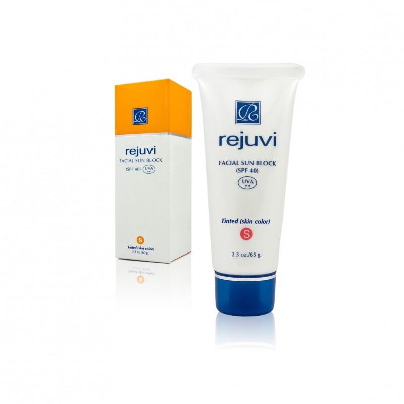 Rejuvi ' s ' Facial Sunblock-SPF-40-Tinted (65 g)