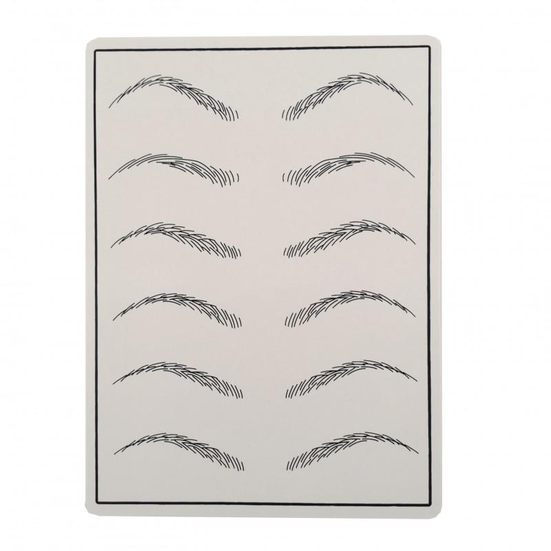 Practice skin ( eyebrows)
