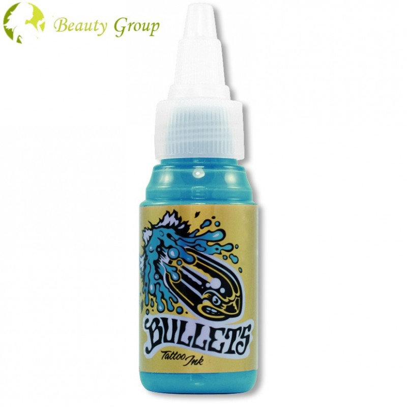 Bullets pigment (HONOLULU BLUE) 35ml.