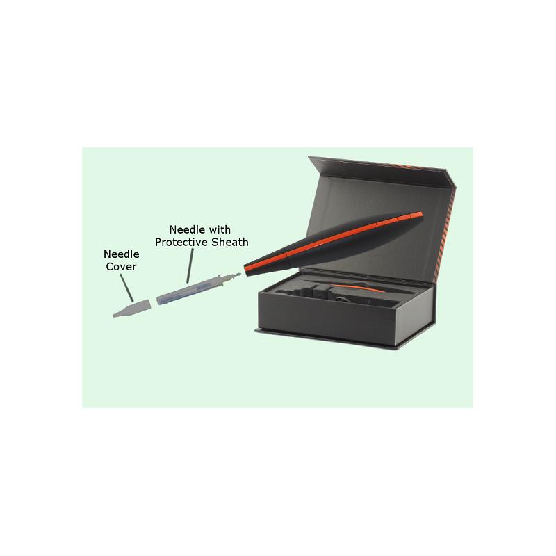 "Bella 3-prong needle ""Supersonic""  (contoured)"