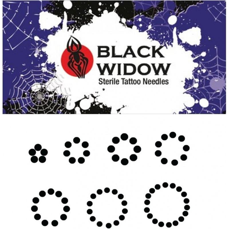 Black Widow RS Round Shader needle (5 pcs.)