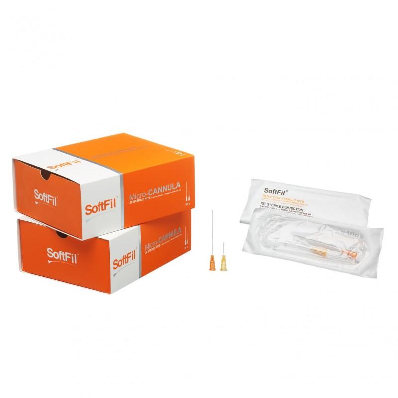 SoftFil® Precision cannula 27G 40mm/XL