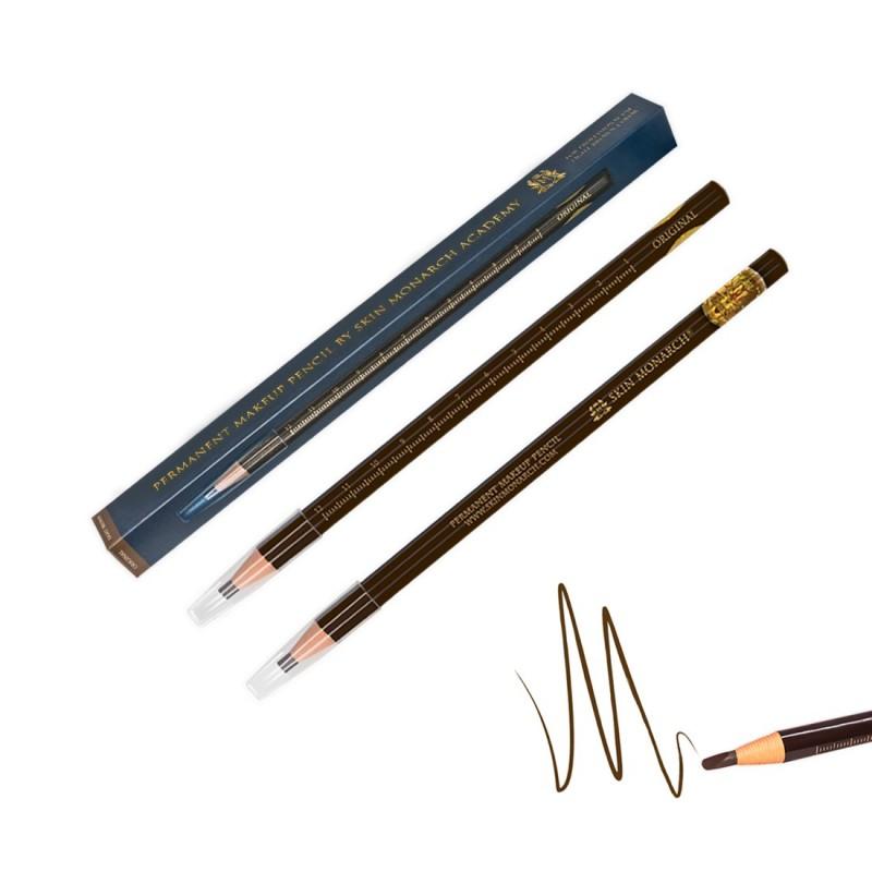 Skin Monarch Waterproof Eyebrow Pencil (Light Brown)