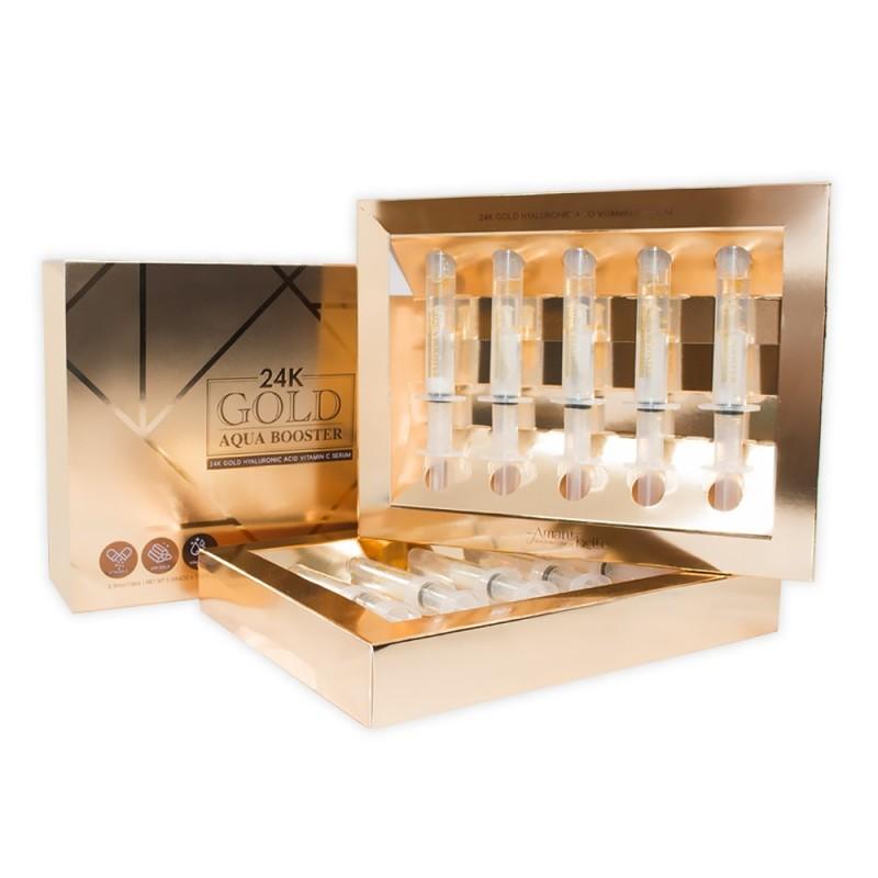 24k Gold Aqua Booster hyaluronic acid Vitamin C serum