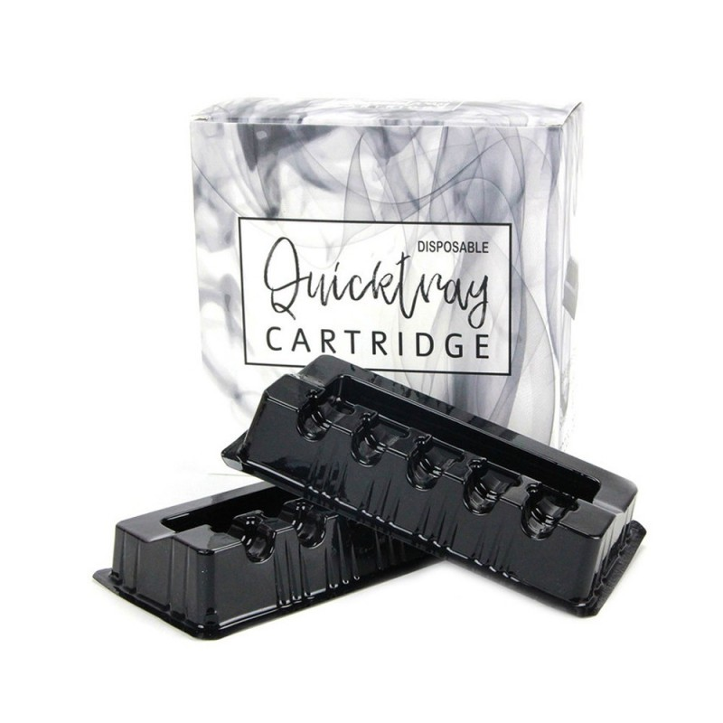 Disposable cartridge tray - black 10 pcs.