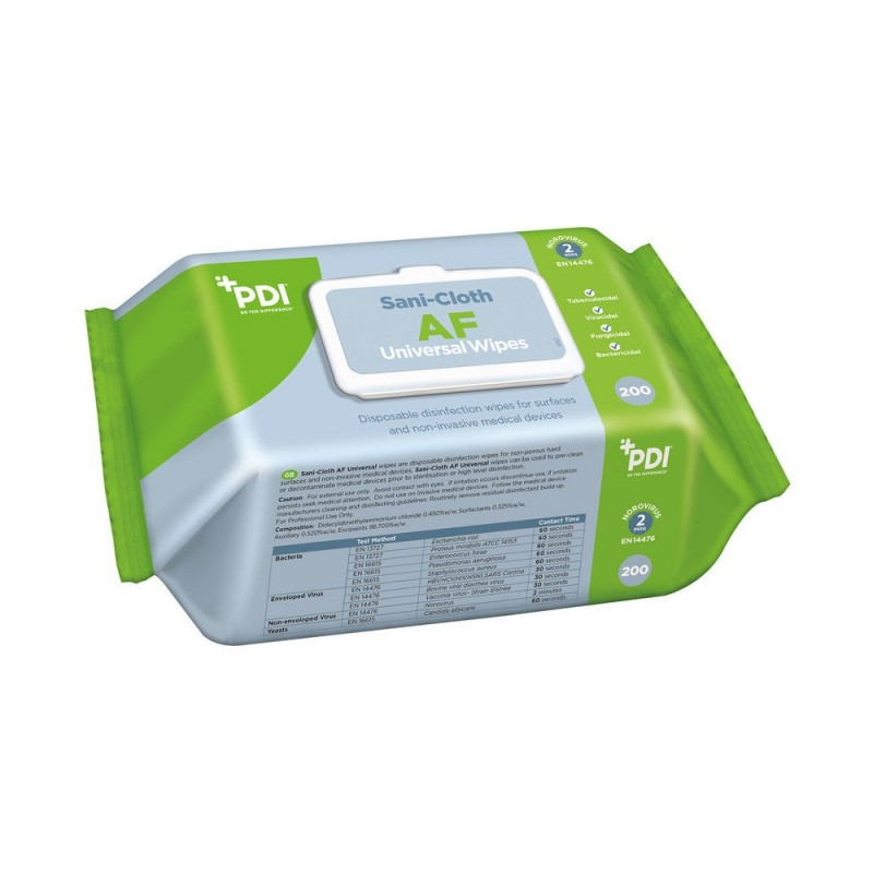 Sani-Cloth AF Universal wipes 200pcs