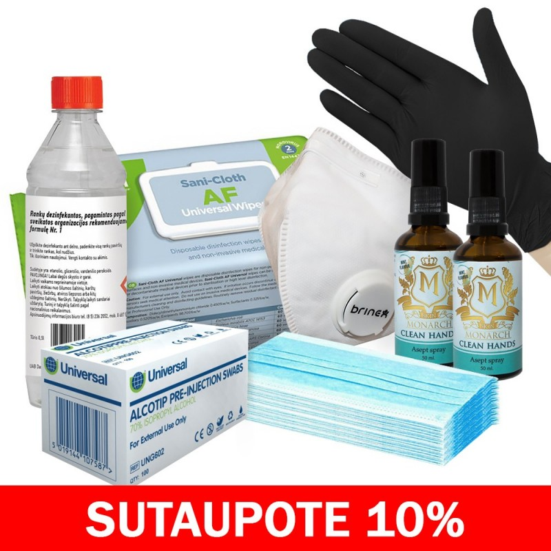 Disinfection kit MAXI