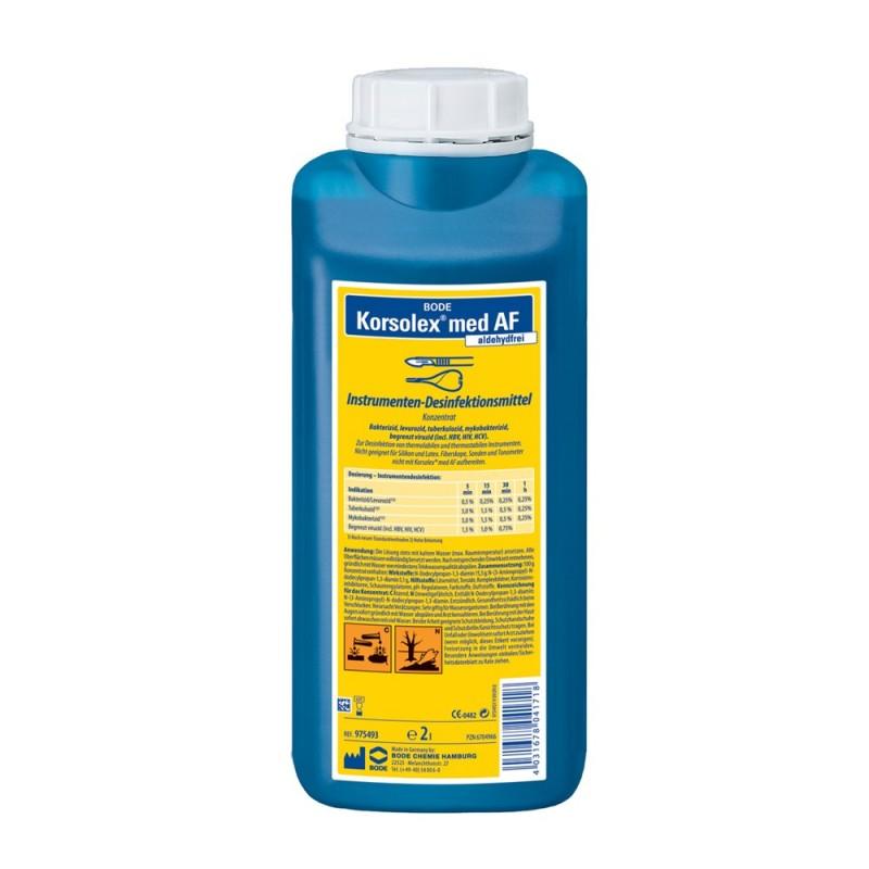 Disinfection for instruments Korsolex med AF, 2l.