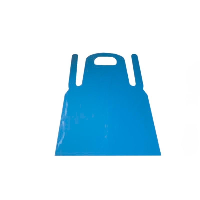Disposable PE blue aprons, 33 micron (50pcs.)