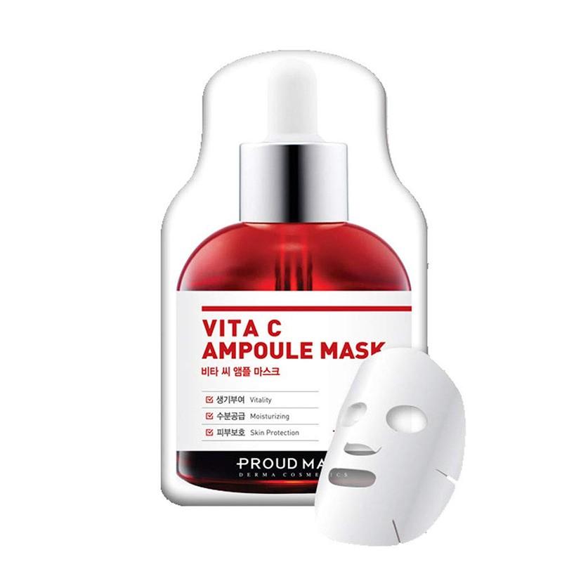 Brightening Vita C Ampoule Mask (1pcs)
