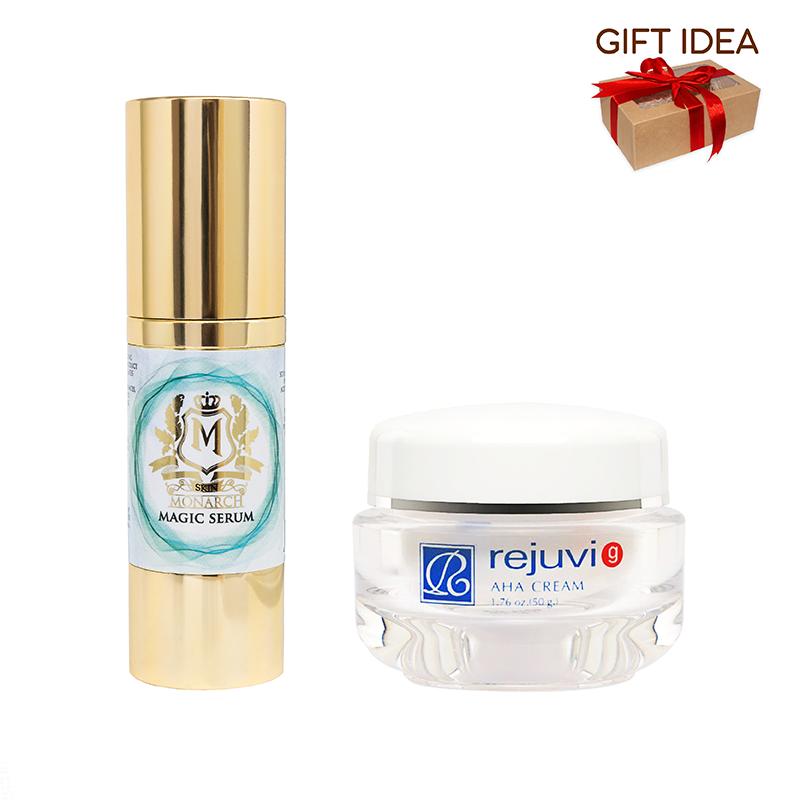 Skin Monarch Magic Serum + Rejuvi G AHA Cream