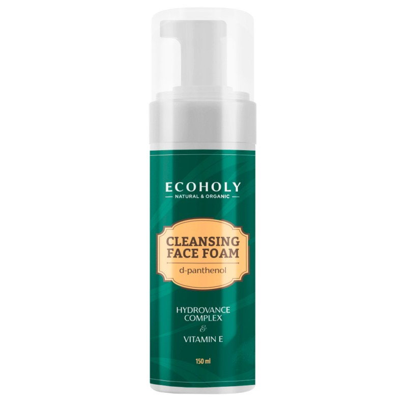 ECOHOLY Cleansing Face Foam With Vitamin E 150ml