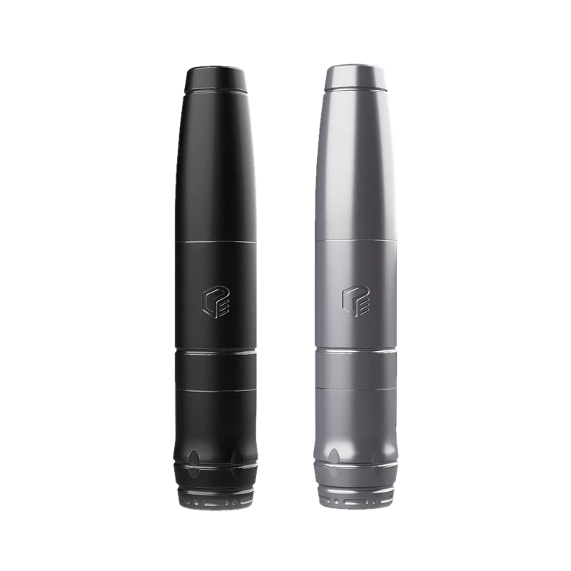 EZ Tattoo Defender Rotary Tattoo And PMU Machine (Silver/Black)