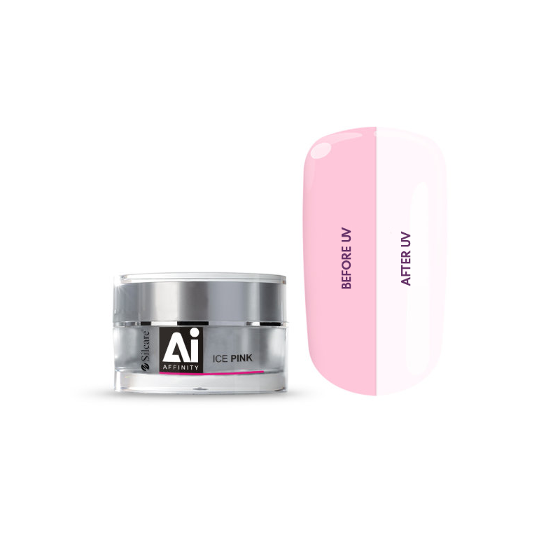 Silcare Affinity UV Ice Pink Gel For Nails (15g/30g)