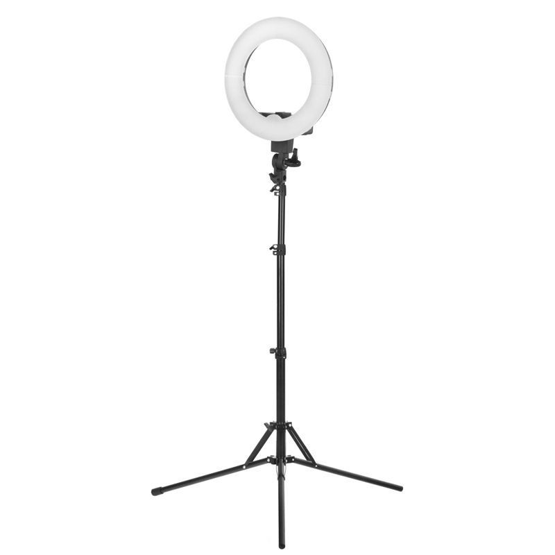 """LED Ring Light 12"""" 35W With Tripod"""
