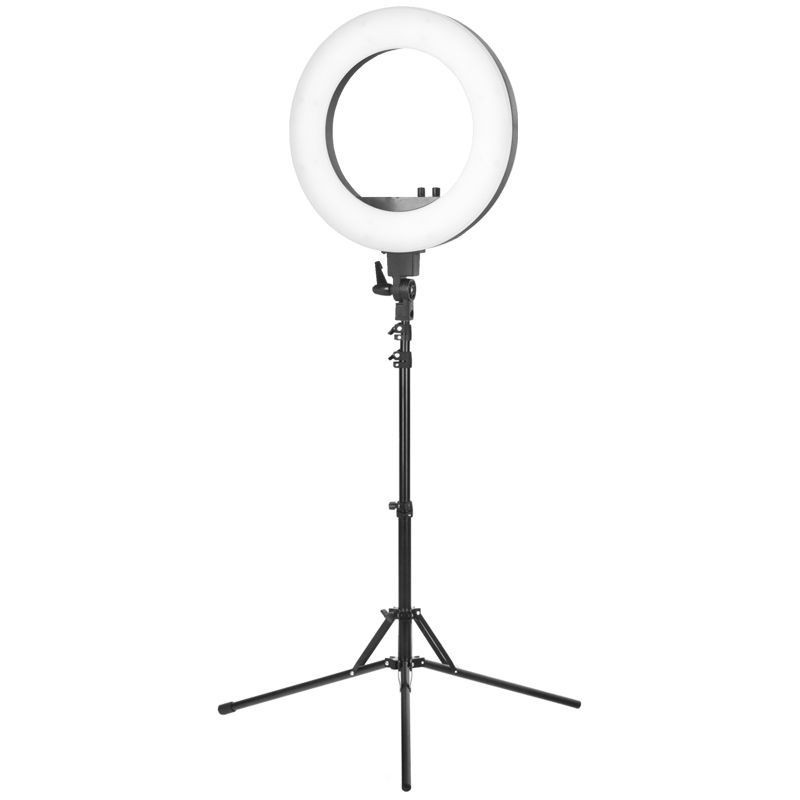 """LED Ring Light 18"""" 48W With Tripod"""