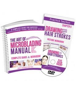 Microblading  mokymosi vadovas ir DVD