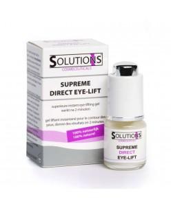 SOLUTIONS Cosmeceuticals staigaus poveikio paakių gelis nuo raukšlių (6ml.)