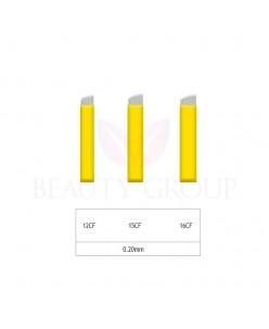 Microblading 12-15-16 CF adata 0,20mm (1pcs.)