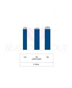 Microblading 14-18 U adata- 0,18mm (1 pcs.)