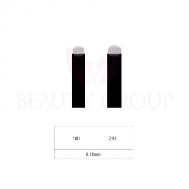 Microblading 18-21 U adata- 0,18mm (1pcs.)