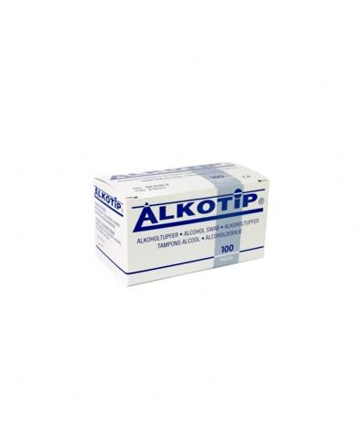 ALCOTIP Prieš procedūrinės dezinfekcinės servetėlės (100vnt.)