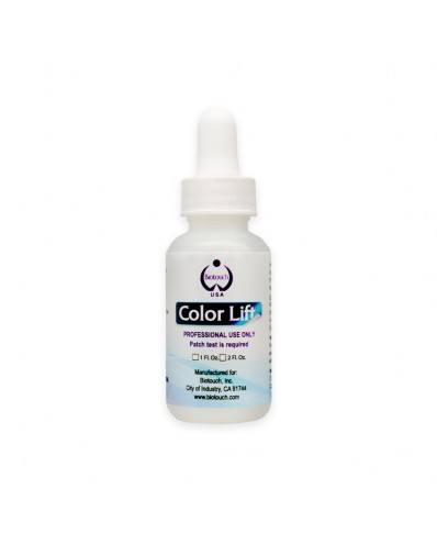 BIOTOUCH COLOR LIFT gelis permanentui šalinti 30ml.