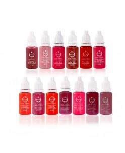 Biotouch pigmentai lūpoms / areolei / korektoriai (15ml.)
