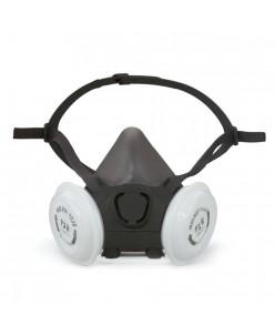 Moldex 7000 serijos FFP3 daugkartinio naudojimo respiratorius, M dydžio (su 18 filtrų rinkiniu)