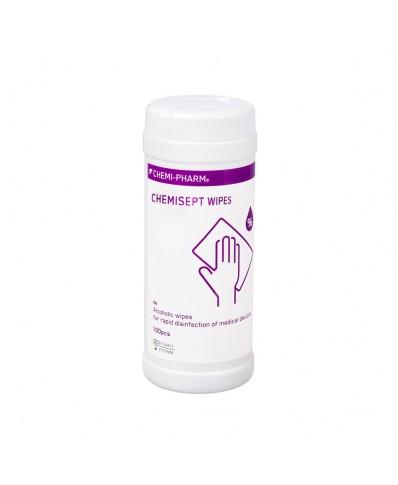 Chemisept dezinfekcinės servetėlės, 100vnt