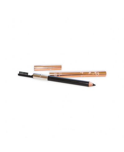 Antakių pieštukas su šepetėliu (juodas)