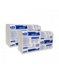 GRITE popieriniai rankšluoščiai (Super 120 W) 1 vnt.