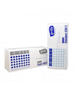 GRITE popieriniai rankšluoščiai (Standart 250 V / Super 150 V) 1 pakuotė