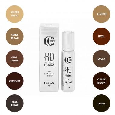 CC Brow Premium Henna HD dažai (5 g)