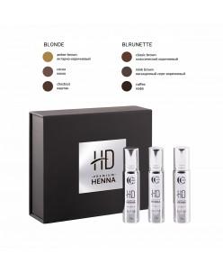 CC Brow HD Premium henna rinkinys (Blonde / Brunette)