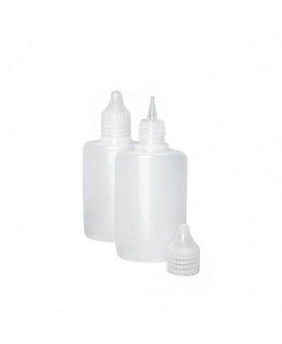 Plastikinis buteliukas skysčiams 50ml (1vnt.)