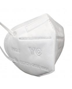Apsauginė veido kaukė - respiratorius 4 sluoksnių KN95 PM2,5 (1vnt.)