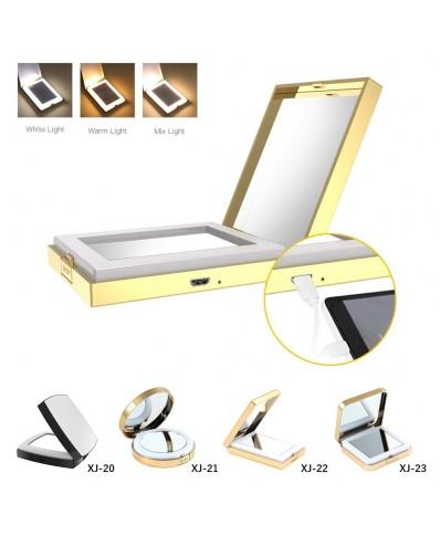 LED makiažo veidrodis (4 skirtingi modeliai)