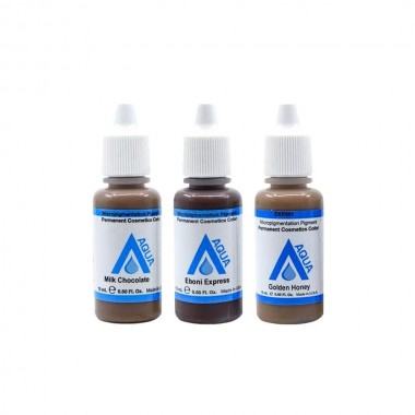 Li Pigments Aqua pigmentai antakiams (15ml.)
