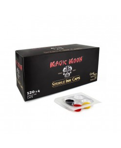 Magic Moon sterilūs pigmento indeliai, 120 x 4 indeliai