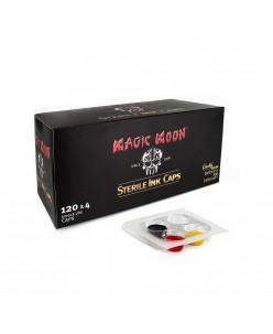 Magic Moon sterilūs pigmento indeliai, 120 x 4 indeliai