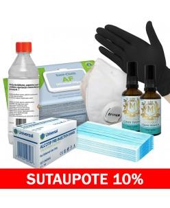 Dezinfekcinių priemonių rinkinys MAXI