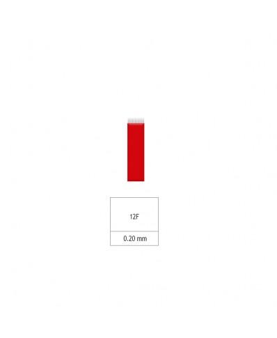 Microblading 12-galė šešėliavimo adata ((0,2mm)