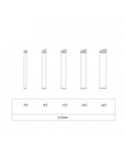 Microblading 7-9-11-12-14 CF adata- 0,25mm (1 pcs.)