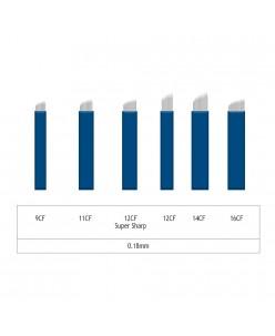Microblading 9-11-12-14-16 CF adata- 0,18mm (1 pcs.)