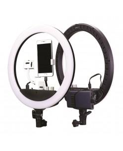 Nanlite Halo 14U LED Žiedo formos lempa su įmontuojama Li-Ion baterija