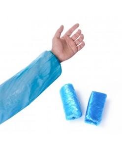 Vienkartinės mėlynos rankovės (10 vnt. - 5 poros)