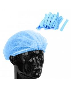 Vienkartinės kepurėlės PP mėlynos (20 vnt.)