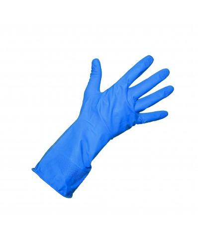 ALLSAFE industrinės lateksinės pirštinės (M - L) (Mėlynos)